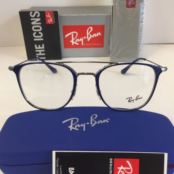 Ray-Ban Other - Ray Ban RB 6377 2906 Blue Matte Eyeglasses